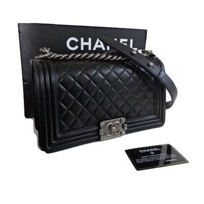 Image of Chanel le boy bag
