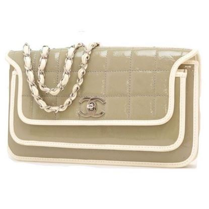Image of Chanel double chain chocolate bar