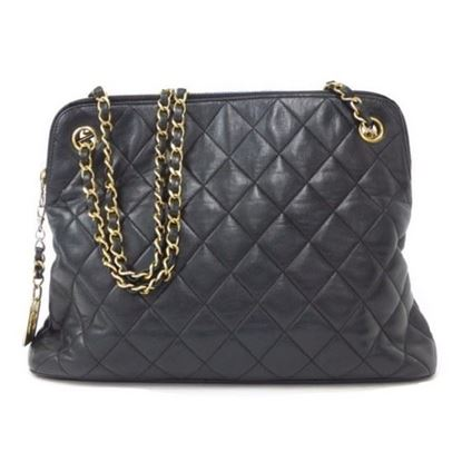 Image of Chanel ziptop tote bag