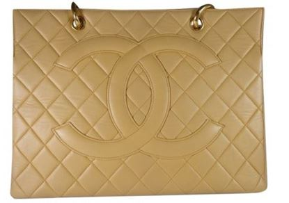 Image of Chanel GST beige