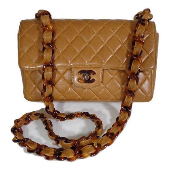 5c98261a01d5b7 Vintage and Musthaves. chanel brown tortoise bag