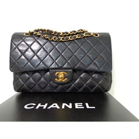6c9c0e351cf0 Vintage and Musthaves. Chanel 2.55 medium double flap bag