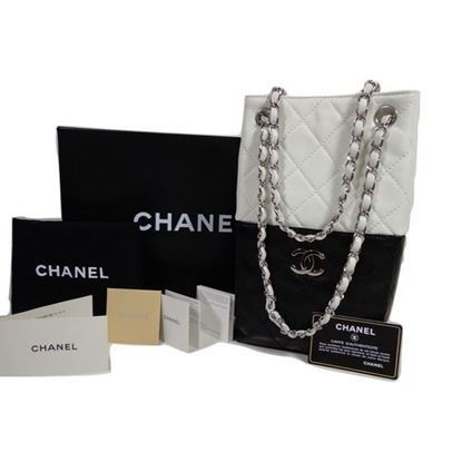 Image of Chanel bi-color rare bag