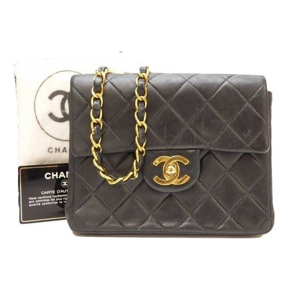 59cb9f512452 Vintage and Musthaves. Chanel square classic mini bag