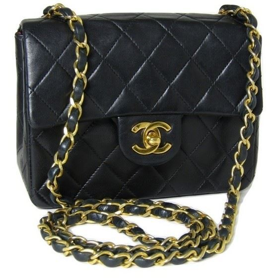 9348cde5d749 Vintage and Musthaves. Chanel 2.55 square mini bag