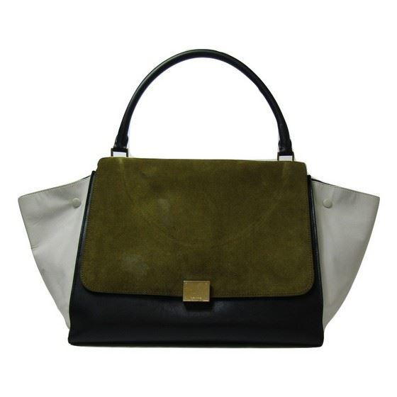 Picture of CÉLINE large Tricolor Trapeze bag
