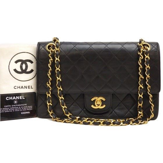 0ad8cb5811a0 Vintage and Musthaves. Chanel 2.55 timeless medium double flap bag