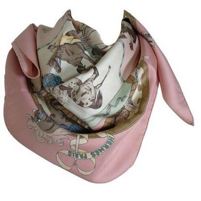 Image of Hermes Musèe Vivant du Cheval scarf