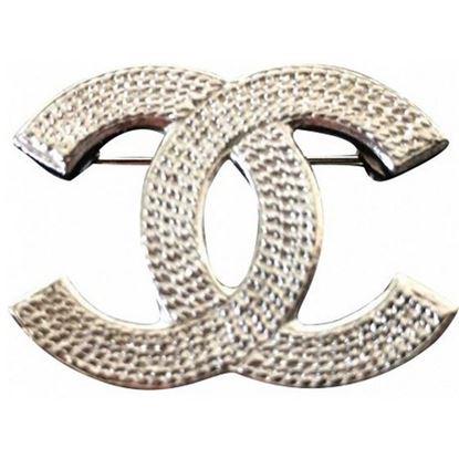 Chanel CC brooch