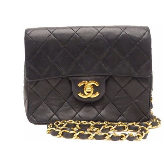 fa376991d21e Vintage and Musthaves. Chanel timeless 2.55 square mini classic bag
