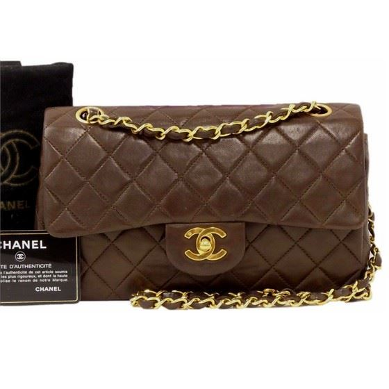 Vintage And Musthaves Chanel Dark Brown Timeless 2 55