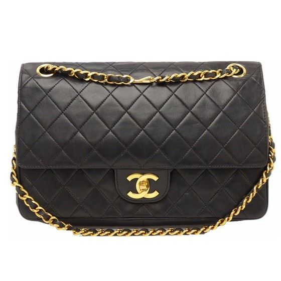 3c6fef9972 Vintage and Musthaves. Chanel medium timeless 2.55 double flap bag