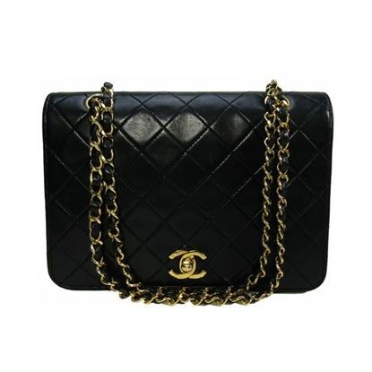 Image of Chanel fullflap double chain classic bag