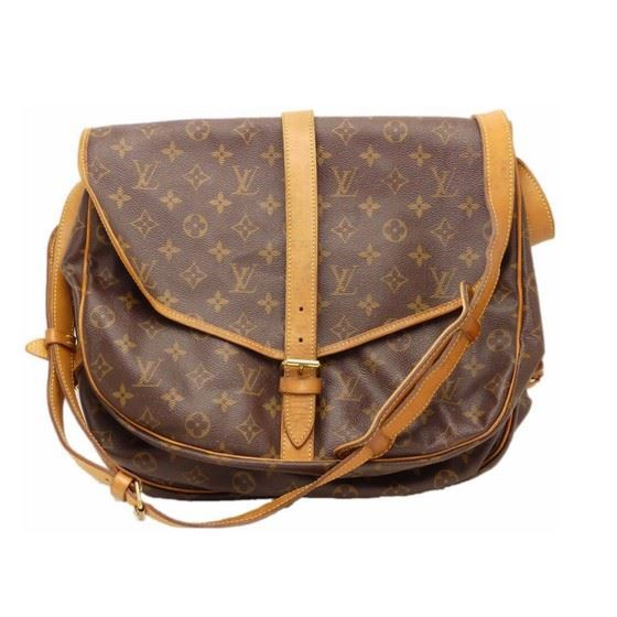 Picture of LOUIS VUITTON Monogram Saumur 35 crossbody bag