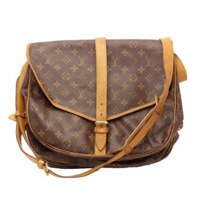LOUIS VUITTON Monogram Saumur 35 crossbody bag