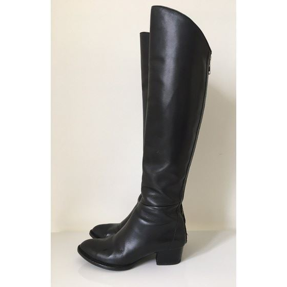 Picture of ALEXANDER WANG - Overknee Sigrid boots