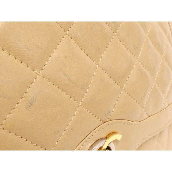 "Picture of Chanel beige medium double flap bag ""Paris"" limited edition"