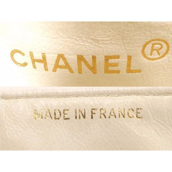 Picture of Chanel timeless 2.55 white square mini bag