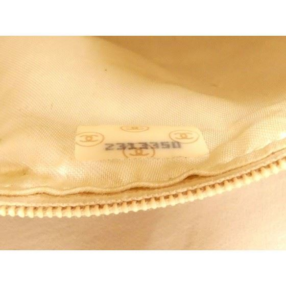 Picture of CHANEL Beige Lambskin Leather Braided bag