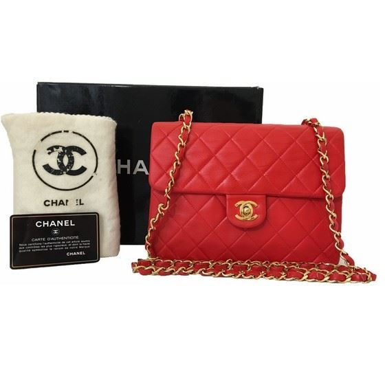 48f7ef38d19e Vintage and Musthaves. Chanel hot red timeless 2.55 crossbody bag
