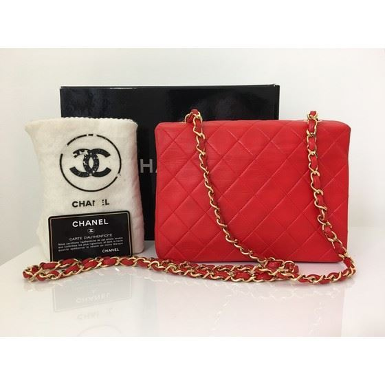 Picture of Chanel hot red timeless 2.55 crossbody bag