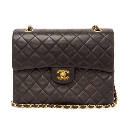 Image of Chanel medium/large 2.55 timeless double flap bag