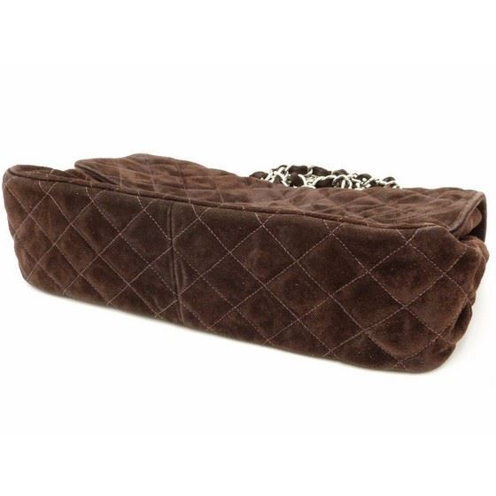 Picture of Chanel large timeless 2.55 brown suede bag