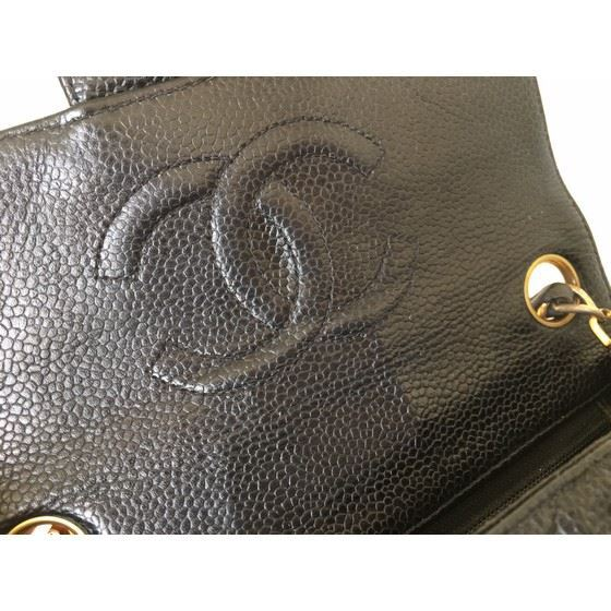 Picture of Chanel square caviar leather mini bag