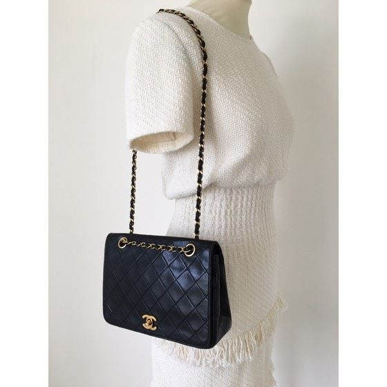 Picture of Chanel timeless double chain turnlock classic bag