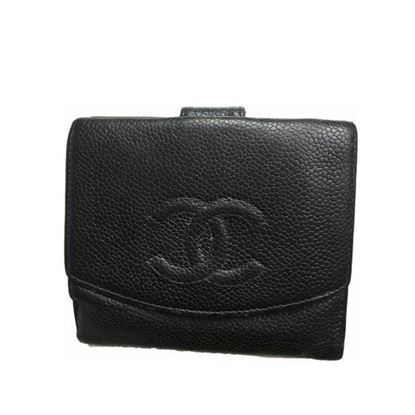 Image of Chanel caviar leather wallet