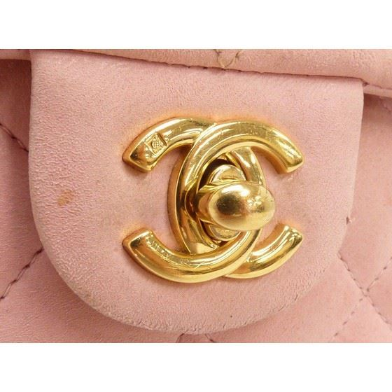 Picture of Chanel pink timeless mini bag