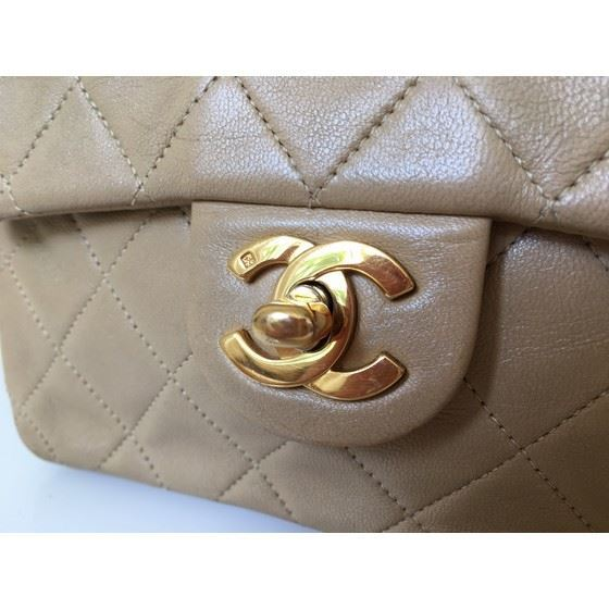Picture of Chanel 2.55 beige timeless mini square bag