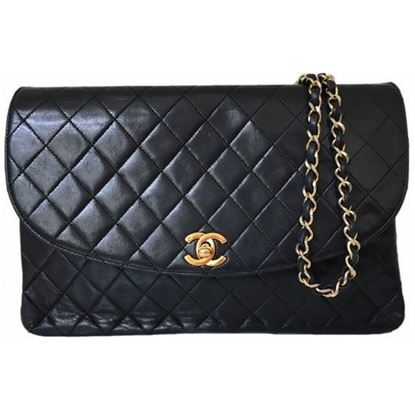 Image of Chanel classic large flap back