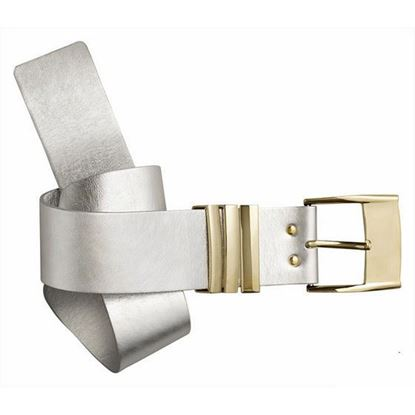 Image of Versace for H&M silver leather belt