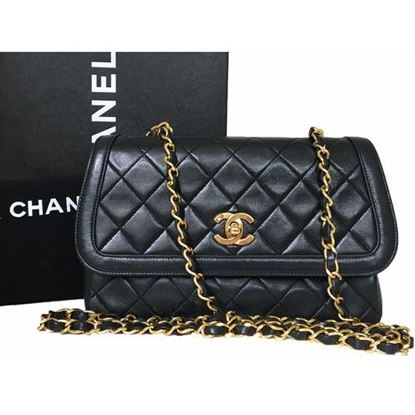 Image of Chanel classic crossbody flap bag