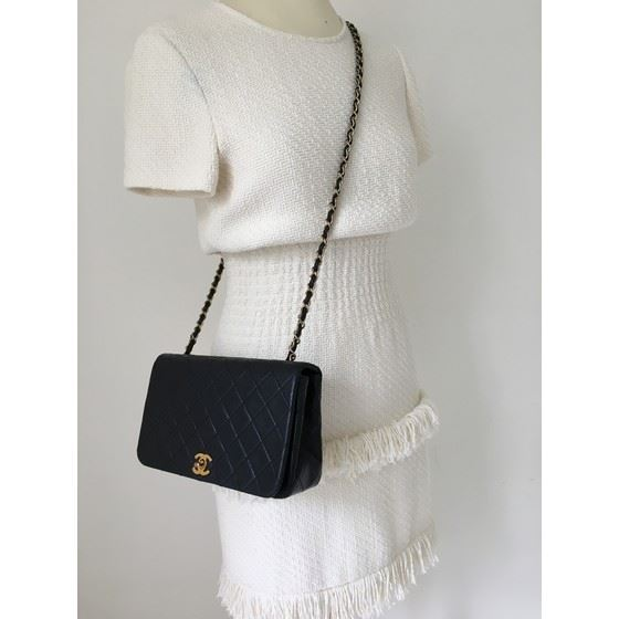 46e27ed6c2a4 Vintage and Musthaves. Chanel 2.55 timeless fullflap crossbody bag ...