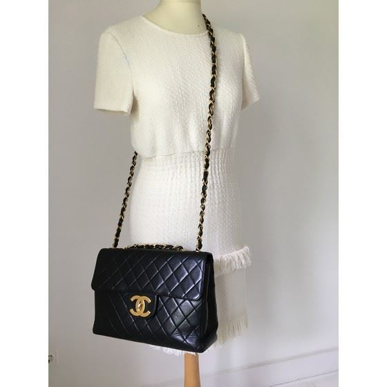 Picture of Chanel 2.55 classic timeless jumbo bag