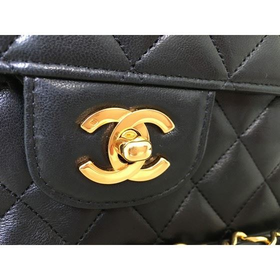 Picture of Mint! Chanel timeless 2.55 double flap bag