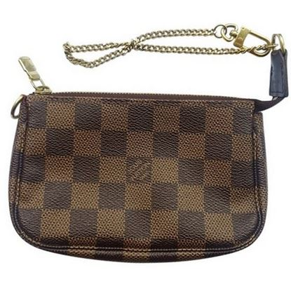 Image of Louis Vuitton mini pochette damier enebe