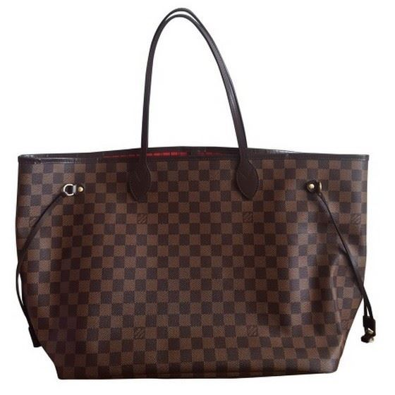 Picture of Louis Vuitton Neverfull GM damier ebene