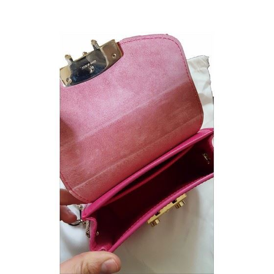 Picture of Furla hot pink metropolis bag