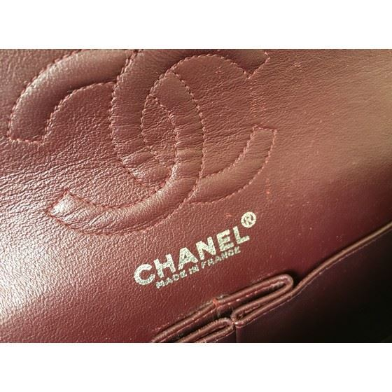 Picture of Chanel timeless 2.55 classic double flap bag with silver hardware