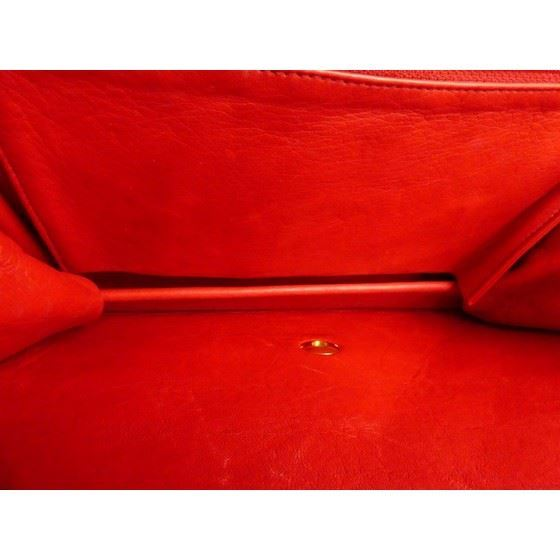 Picture of Chanel  2.55 red flap bag
