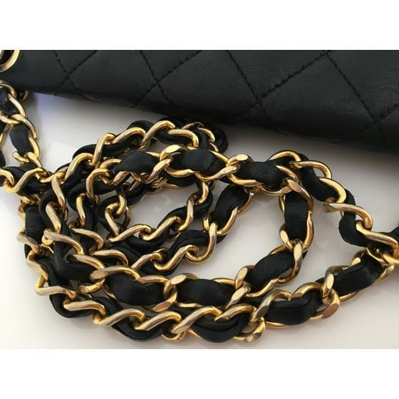 Picture of Chanel timeless 2.55 fullflap classic double chain turnlock bag