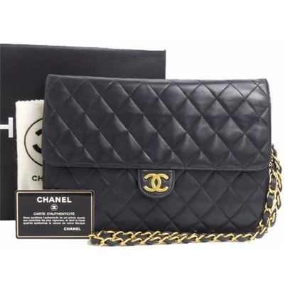 Image of Classic chanel 2.55 medium timeless flap bag