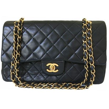 Image of Chanel timeless 2.55 medium double flap bag