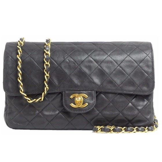 9da210a47dda Vintage and Musthaves. Chanel medium 2.55 timeless crossbody flap bag