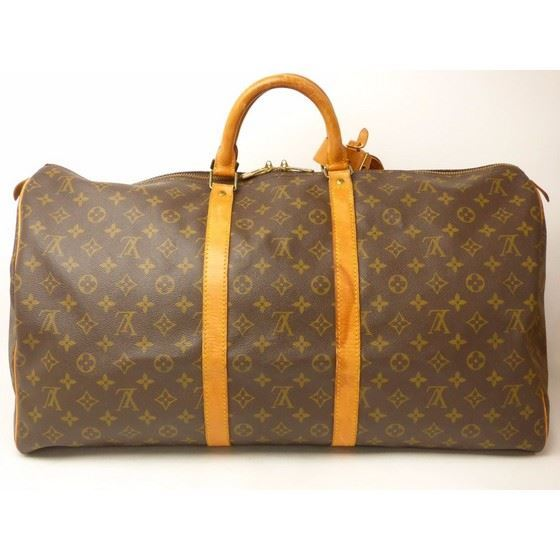 Picture of Louis Vuitton keepall 55 monogram boston travel bag