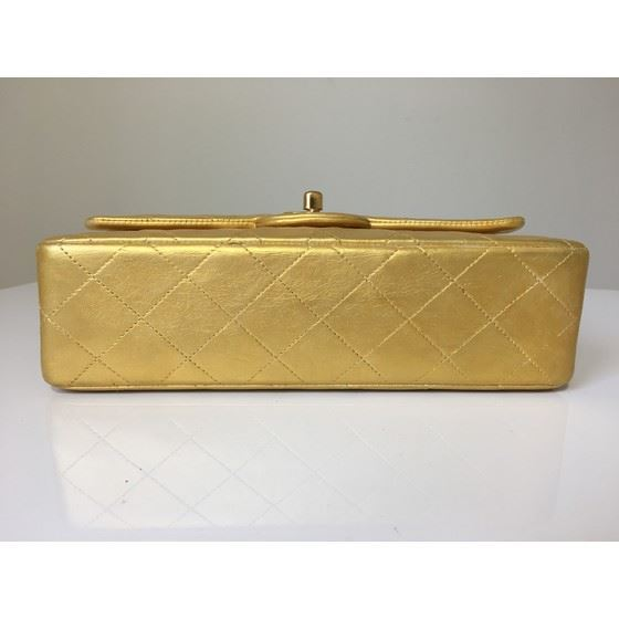 Picture of Chanel timeless 2.55 gold double flap bag