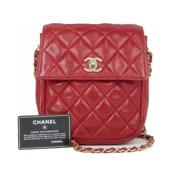 ba53e9cb49ac Vintage and Musthaves. Chanel timeless classic red flap bag